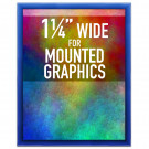 "SwingSnap Colorful Snap Frames, Quick Change Poster Display for Mounted Graphics, 1.25"" Wide"