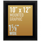 "SwingSnap Snap Frames, Quick Change Poster Display, 1 5/8"" Wide for 10x12 Mounted Graphics"
