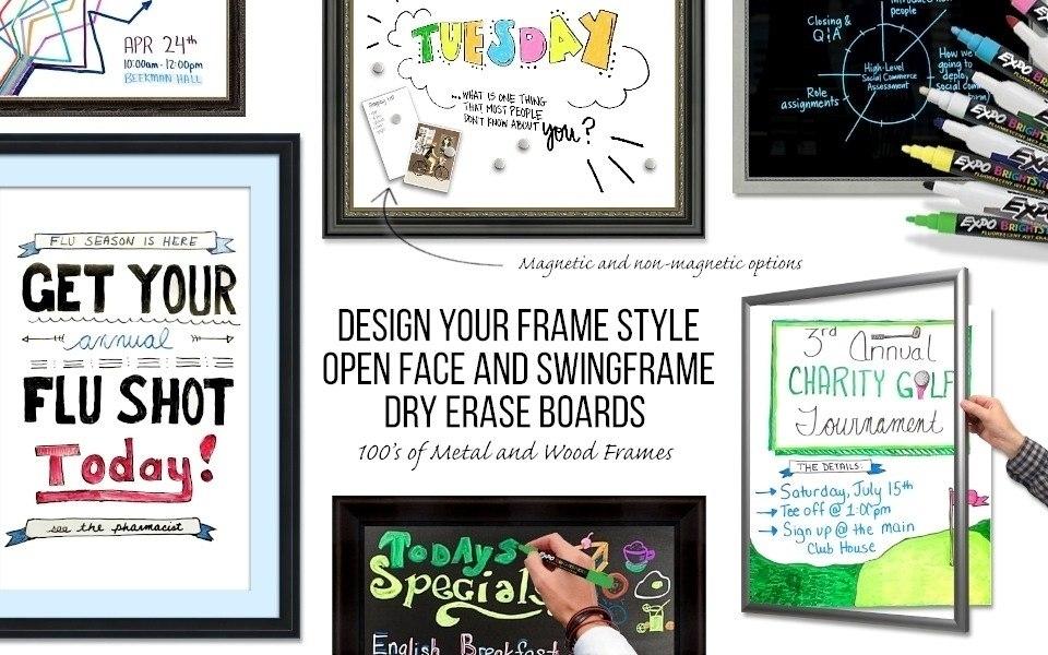 Dry-Erase Marker Boards
