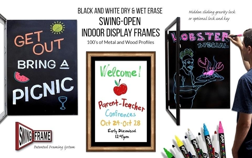 Dry Erase / Marker Board SwingFrames