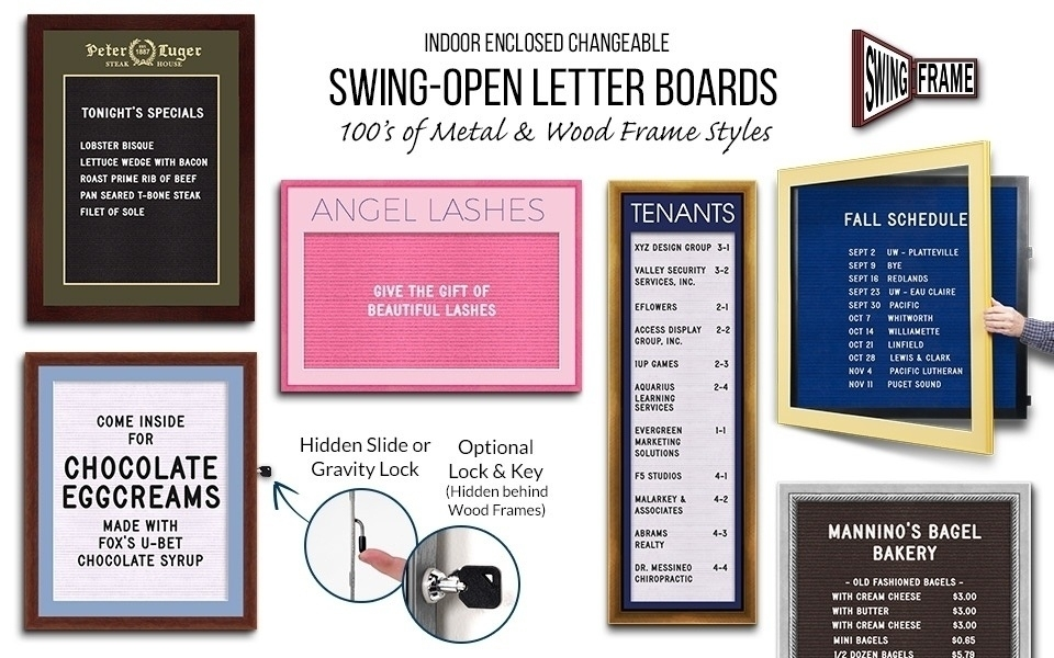 Letter Board SwingFrames