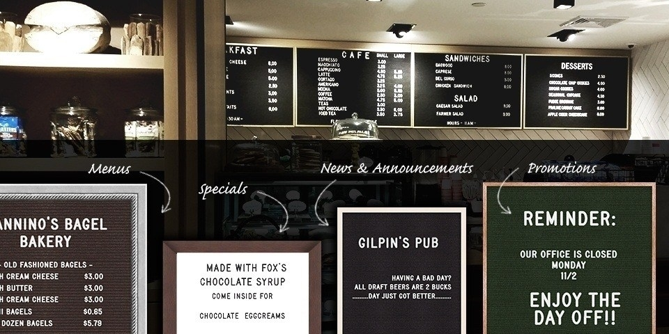 Letter Boards - for Cafes, Restaurants, Breweries...