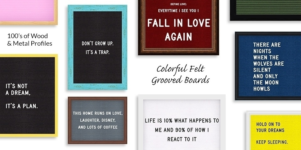 Letter Boards - for Home & Office