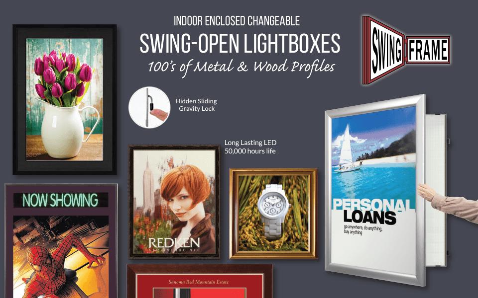 SwingFrame Light Boxes