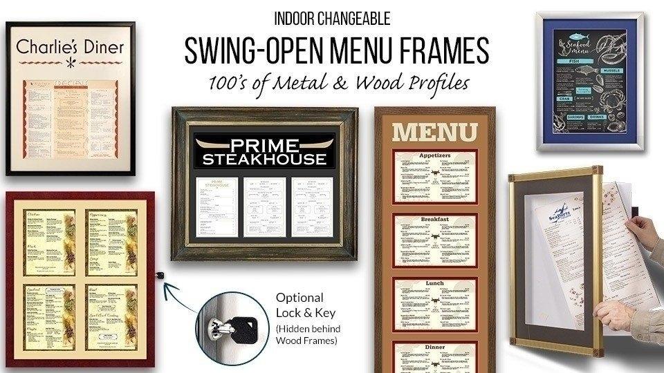 Restaurant Menu SwingFrames
