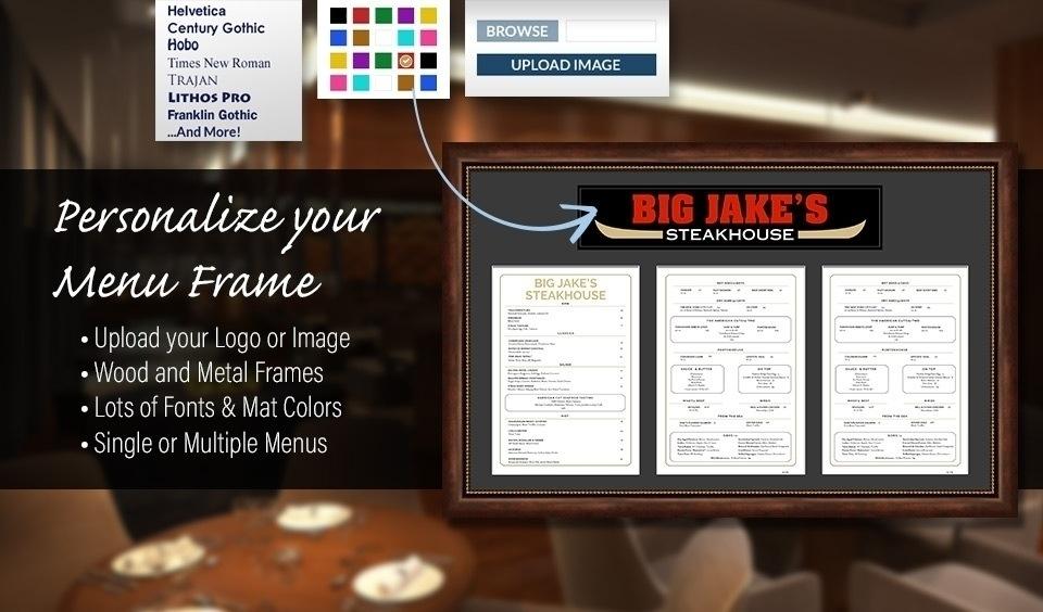 Restaurant Frames