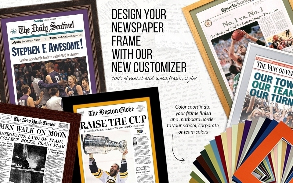 Newspaper Frames