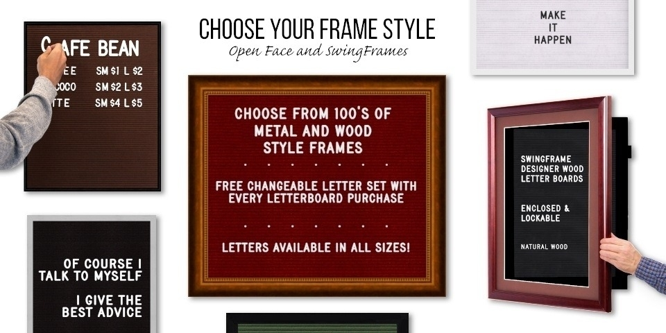 Changeable Letter Boards