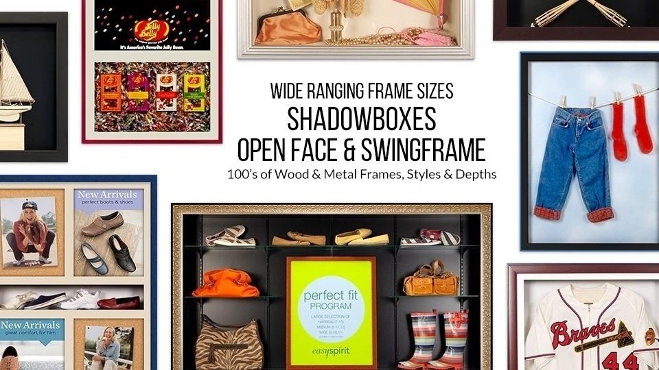 Shadow Box Display Cases