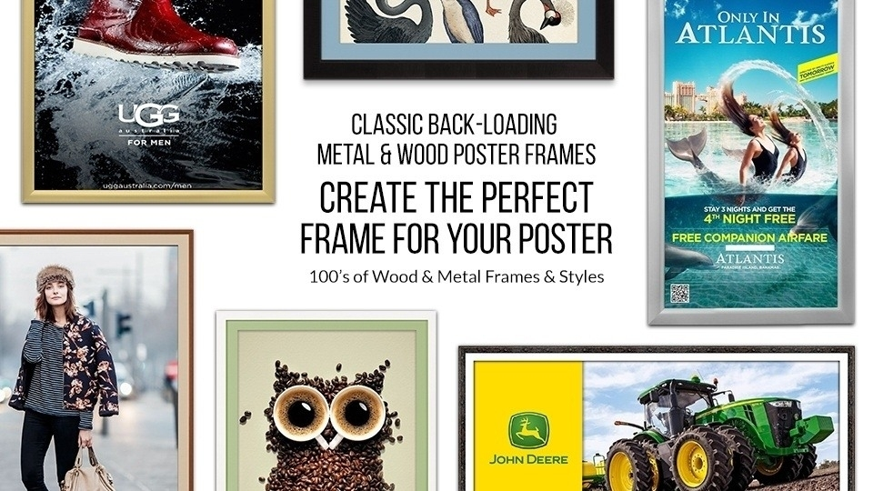Traditional Poster Frames