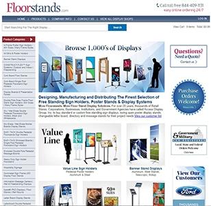 Floorstands Website