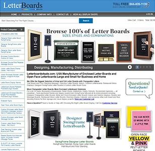 LetterBoards Website