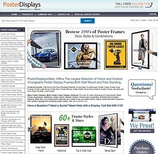 PosterDisplays Website