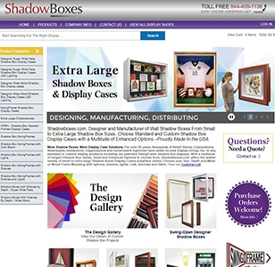 ShadowBoxes Website