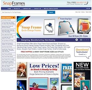SnapFrames Website