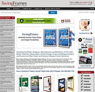 SwingFrames4sale Website
